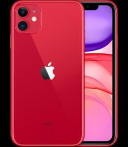 Apple iPhone 11 64GB Rood