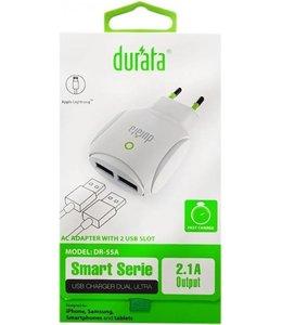 Durata AC Adapter USB 2x