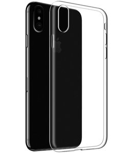 iPhone X/XS Soft Hoesje Transparant