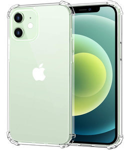 Sino Tech iPhone 12 Mini Hoesje Schokbestendig Transparant