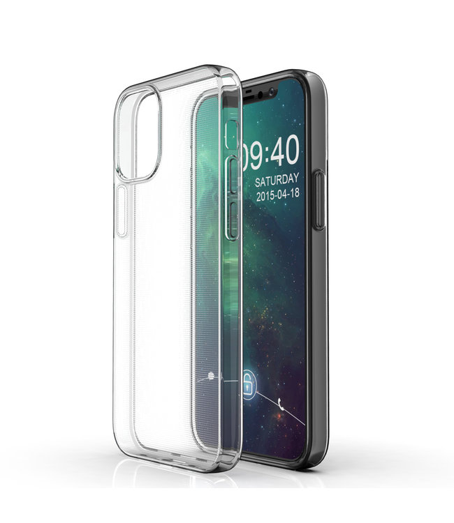 Sino Tech iPhone 12 Mini Hoesje Transparant