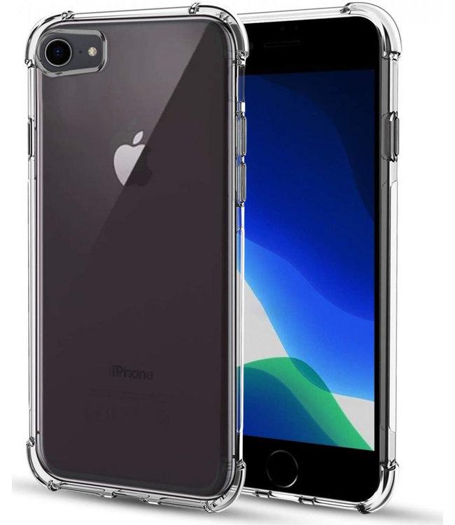 Sino Tech iPhone 7/8/SE 2020 Hoesje Schokbestendig Transparant