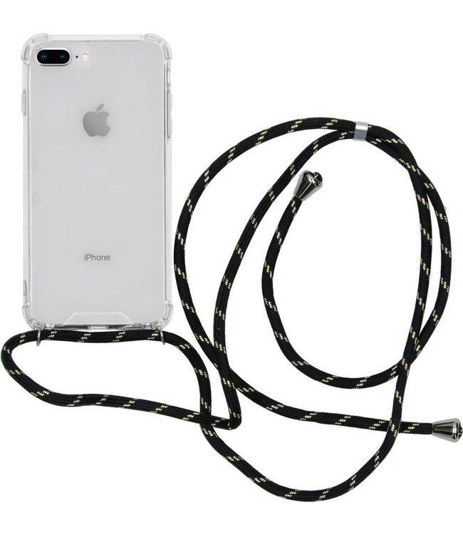 Sino Tech iPhone 7 Plus/8 Plus Hoesje  Transparant met Koord