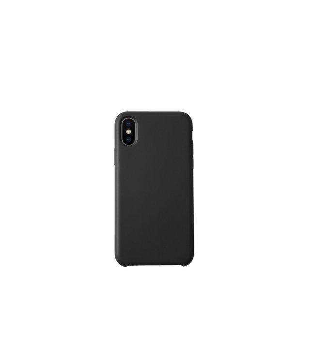 Sino Tech iPhone XS Max Silicone Hoesje Zwart