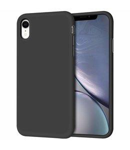 Sino Tech iPhone XR Silicone Hoesje Zwart