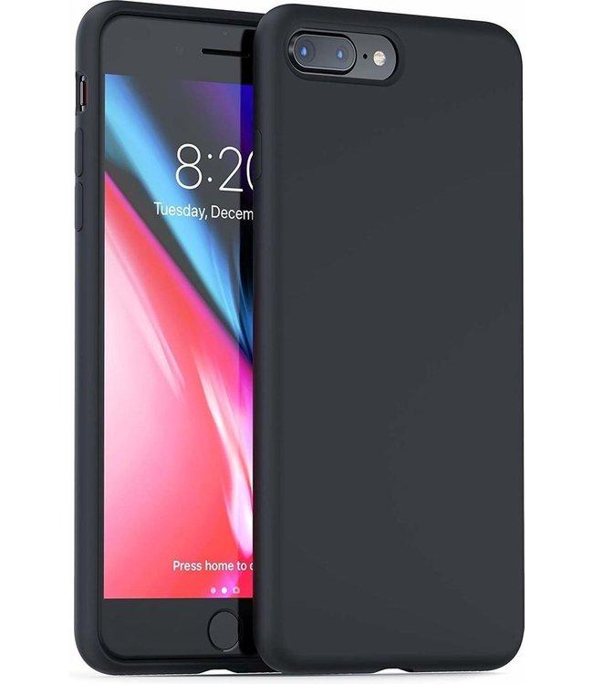 Sino Tech iPhone 7 Plus/8 Plus Silicone Hoesje Zwart