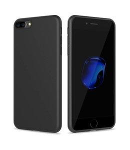 Sino Tech iPhone 7/8/SE 2020 Silicone Hoesje Zwart