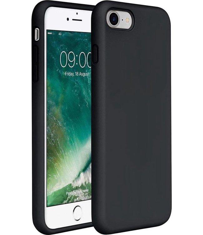 Sino Tech iPhone 5/5S/SE Silicone Hoesje Zwart