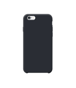 Sino Tech iPhone 6/6S Silicone Hoesje Zwart