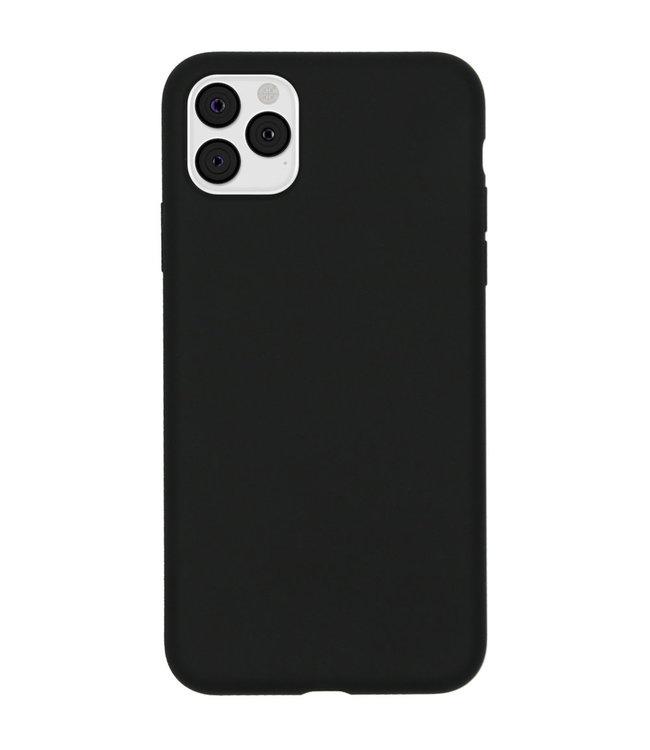 Sino Tech iPhone 11 Pro max Silicone Hoesje Zwart