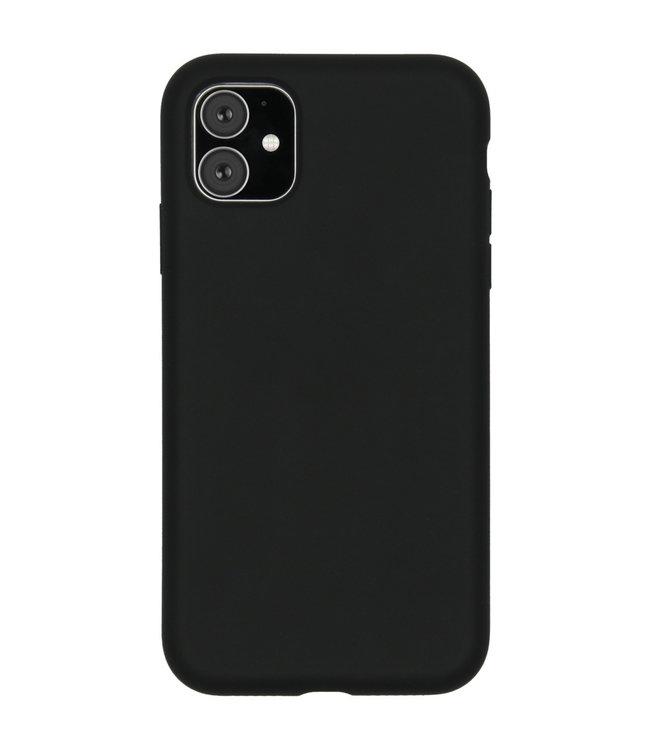Sino Tech iPhone 11 Silicone Hoesje Zwart