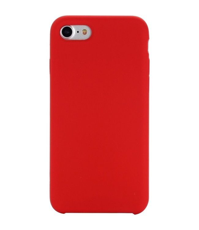 Sino Tech iPhone 6/6S Silicone Hoesje Rood