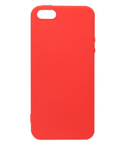 Sino Tech iPhone 5/5S/SE Silicone Hoesje Rood