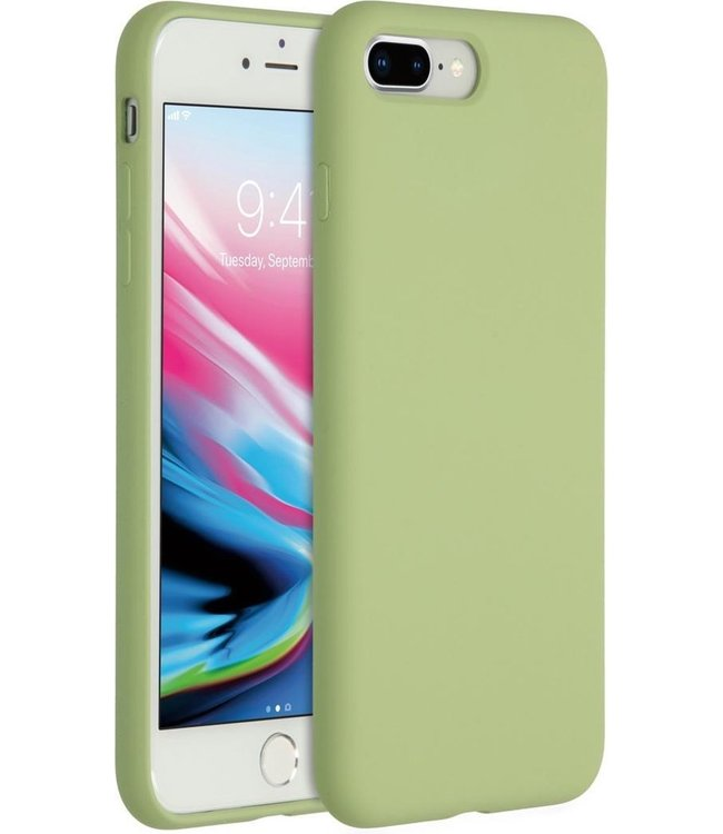 Sino Tech iPhone 7 Plus/8 Plus Silicone Hoesje Groen