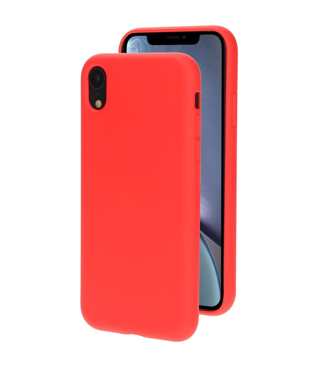 Sino Tech iPhone XR Silicone Hoesje Rood