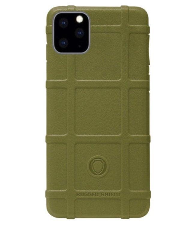 Sino Tech iPhone 11 Rugged Shield Hoesje Groen