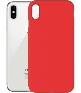 iPhone XS Max Silicone Hoesje Zwart