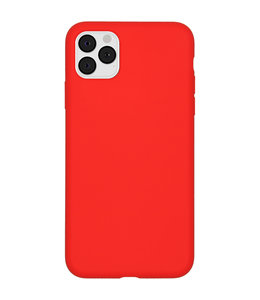 Sino Tech iPhone 11 Pro Silicone Hoesje Rood
