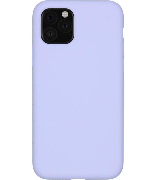Sino Tech iPhone 11 Pro Silicone Hoesje Paars