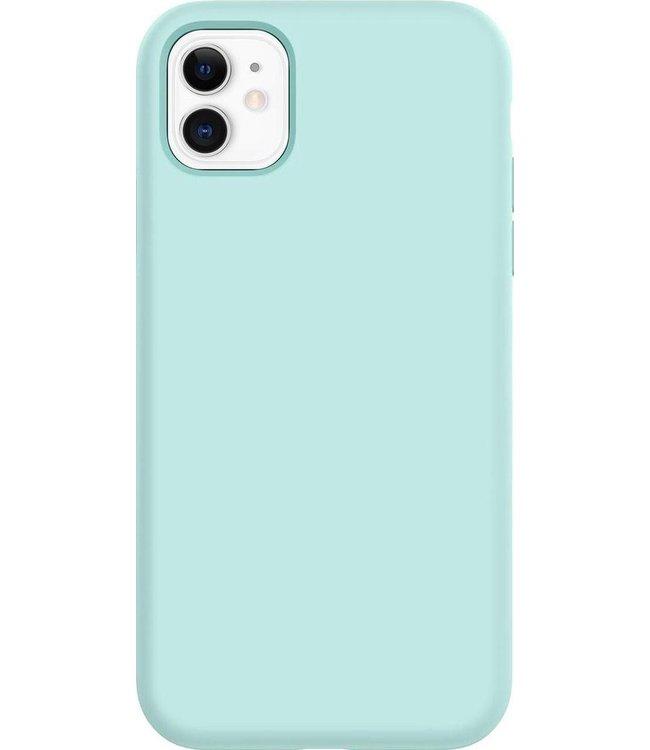 Sino Tech iPhone 11 Silicone Hoesje Turqouise