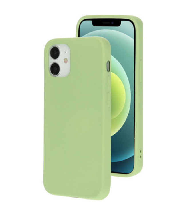 Sino Tech iPhone 12 Mini Silicone Hoesje Groen