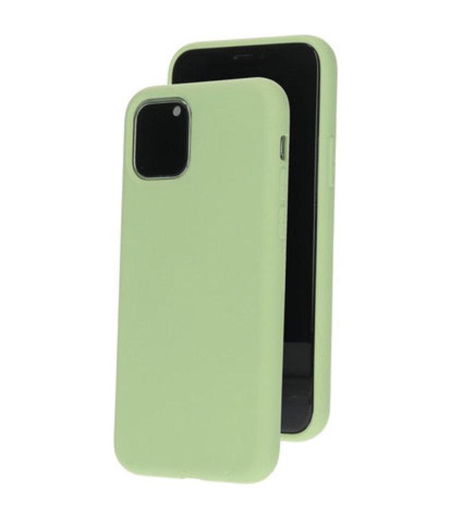 Sino Tech iPhone 11 Pro Max Silicone Hoesje Groen
