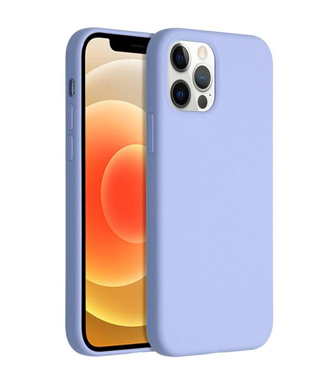 Sino Tech iPhone 12 Mini Silicone Hoesje Paars