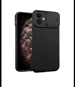 Sino Tech iPhone 12/iPhone 12 Pro Hoesje Camera Protector Zwart