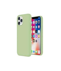 Sino Tech iPhone 12 Pro Max Silicone Hoesje Groen