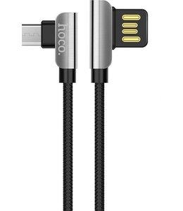 Hoco Premium Mirco USB Oplaadkabel U42 1.2 Meter Zwart