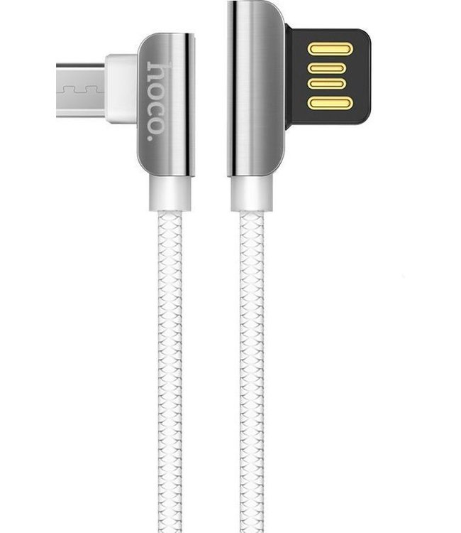 Hoco Premium Mirco USB Oplaadkabel U42 1.2 meter Wit