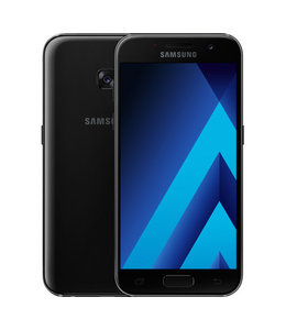 Samsung Galaxy A3 2017 16GB Zwart C - Grade