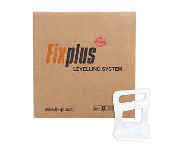Fix Plus ® Levelling Clips 2000 st. 2mm.