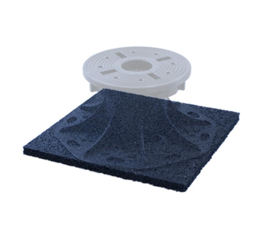 Fix Plus ® Rubberen Tegeldrager 200x200x10 mm.