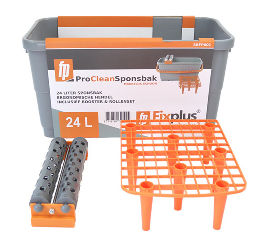 Fix Plus ® Pro Clean Sponsbak 24L