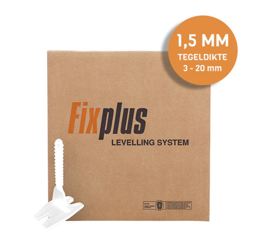 Fix Plus ® Twist Clips 2500 st. 1,5 mm