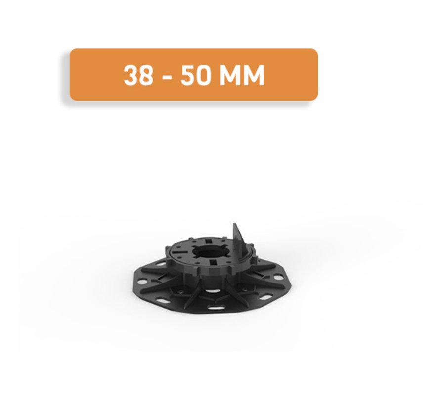Fix Plus ® Balkendrager BSW60-02 Verstelbaar 38 - 50 mm