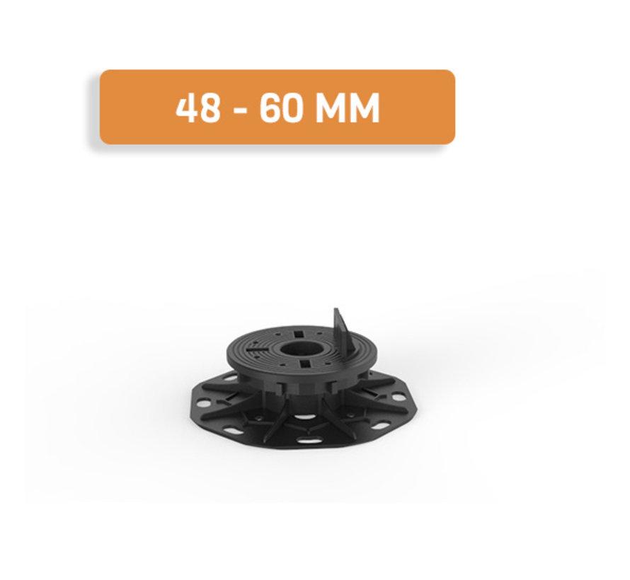 Fix Plus ® Balkendrager SLW60-02 Zelf Nivellerend 48 - 60 mm