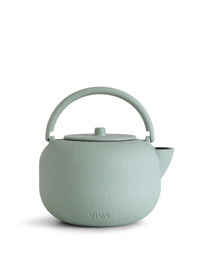 Viva Scandinavia Saga  gietijzeren ronde theepot 800 ml (mint)