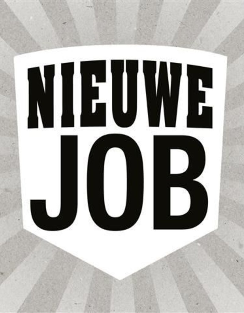 Nieuwe job
