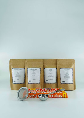 Losse thee verwenpakket
