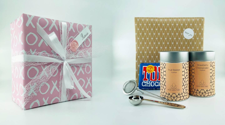 Kies voor een prachtig een thee cadeau...