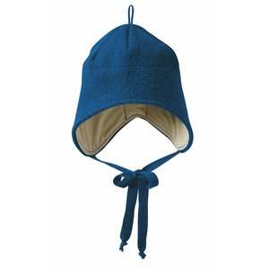 Disana hat boiled wool navy