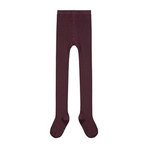 Gray Label ribbed tights plum