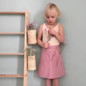 Colchik skirt pink