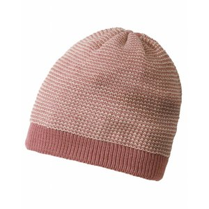 Disana beanie pink-natural