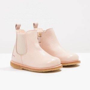 Angulus starter chelsea boot with elastic & zipper powder beige
