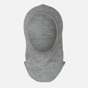 Engel balaclava wool-silk grey melange