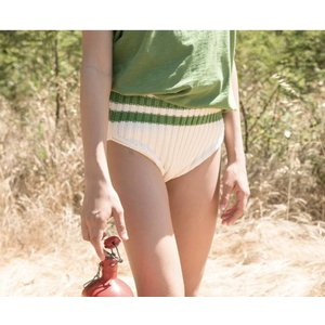 Piupiuchick knitted high waisted shorts