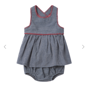 Ketiketa Zoe baby dress + bloomer